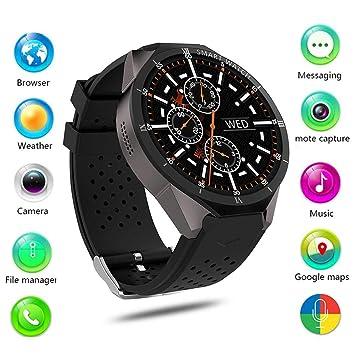 Leo565Tom - Reloj Inteligente con Bluetooth para Android 7.0 ...