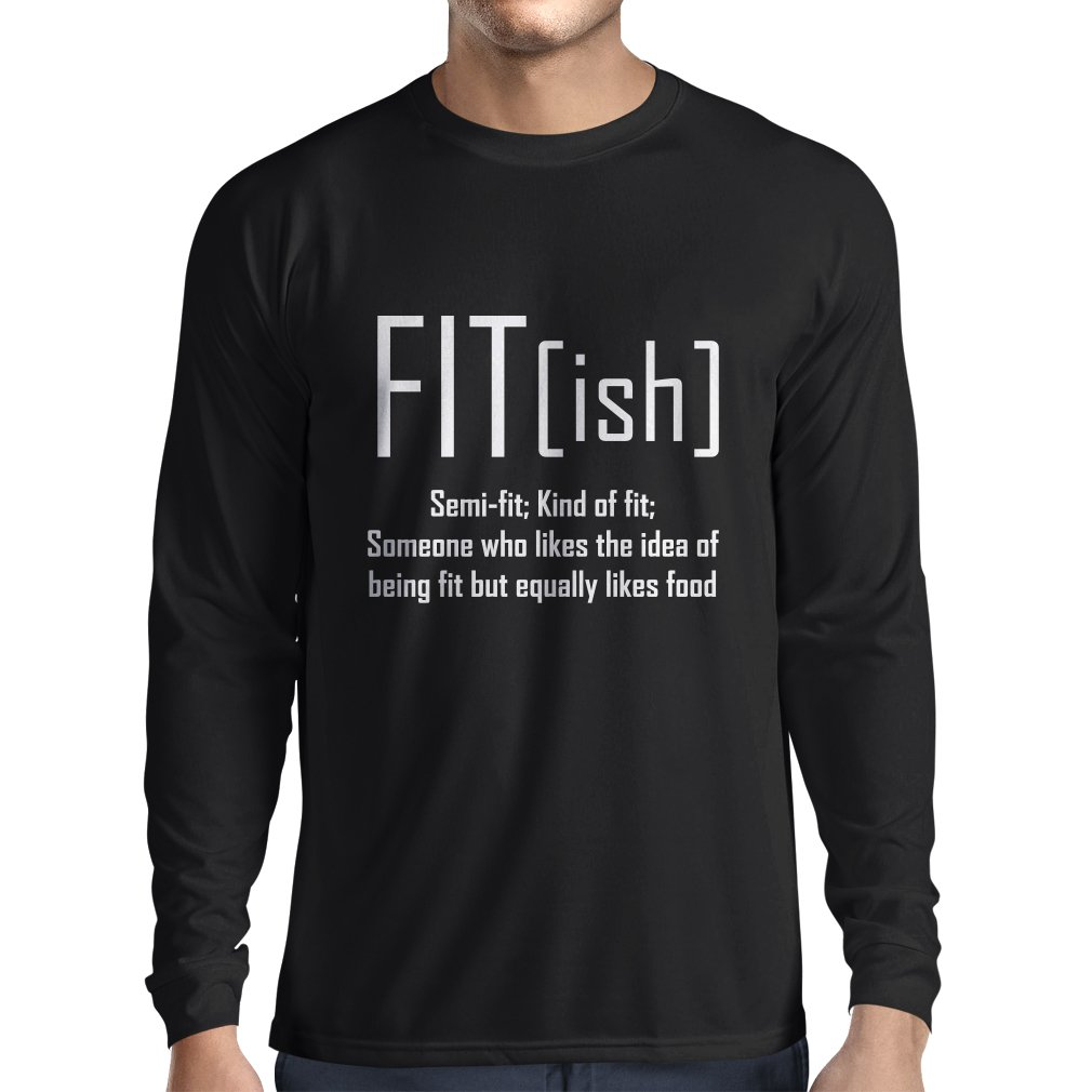 lepni.me Men's T-Shirt Fit-Ish Exercise - Workout - Gym, Sarcastic t Shirt VACOM ADVARTAIZING Ltd