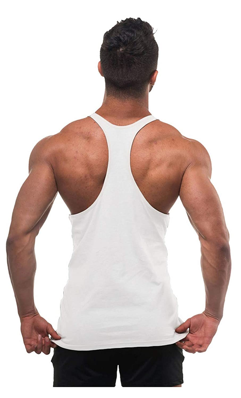 Cabeen Camiseta de Hombre Deportiva Tirantes Culturismo Fitness Tank Top