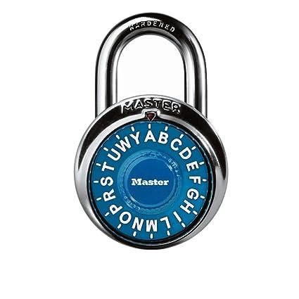 master lock padlock standard dial letter combination lock 1 78 in