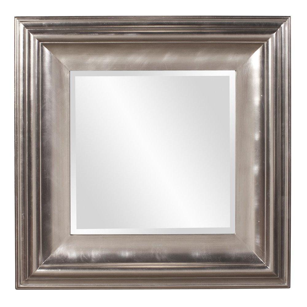 Howard Elliott 56085 Christian Square Mirror, Silver