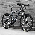 61AvPv odbL. SS150 Bicicletta, Bicicletta MTB, 26 Pollici 21 velocità Bicicletta Mountain Bike, Biciclette Sospensioni Anteriori Doppio…