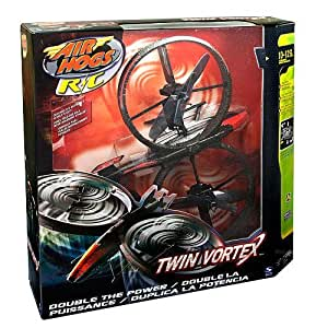 Air Hogs Twin Vortex Helicopter - Black/Red