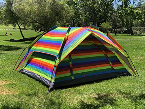 Mcway Rainbow Automatic Camping Tent Instant Hydraulic