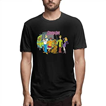 Jamychalsh Scooby Doo Family T Shirts for Men Graphic