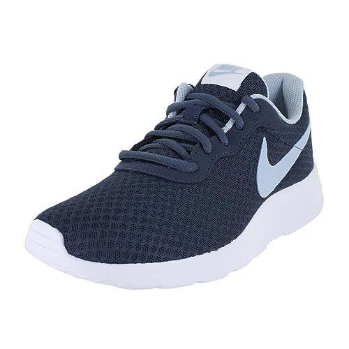 Nike Wmns Tanjun - Zapatillas Deportivas, Mujer, Azul - (Thunder Blue/Lt