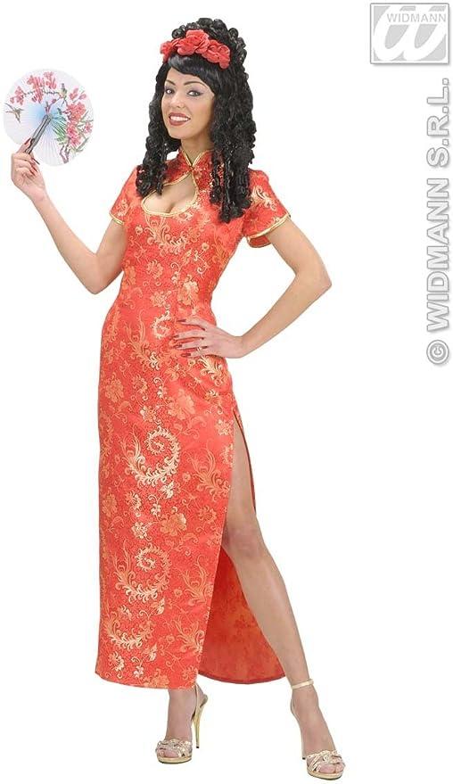Donna Carnevale Costume Adulto 7165 Cinese Cinesina Vestito Widmann nXI4vvg