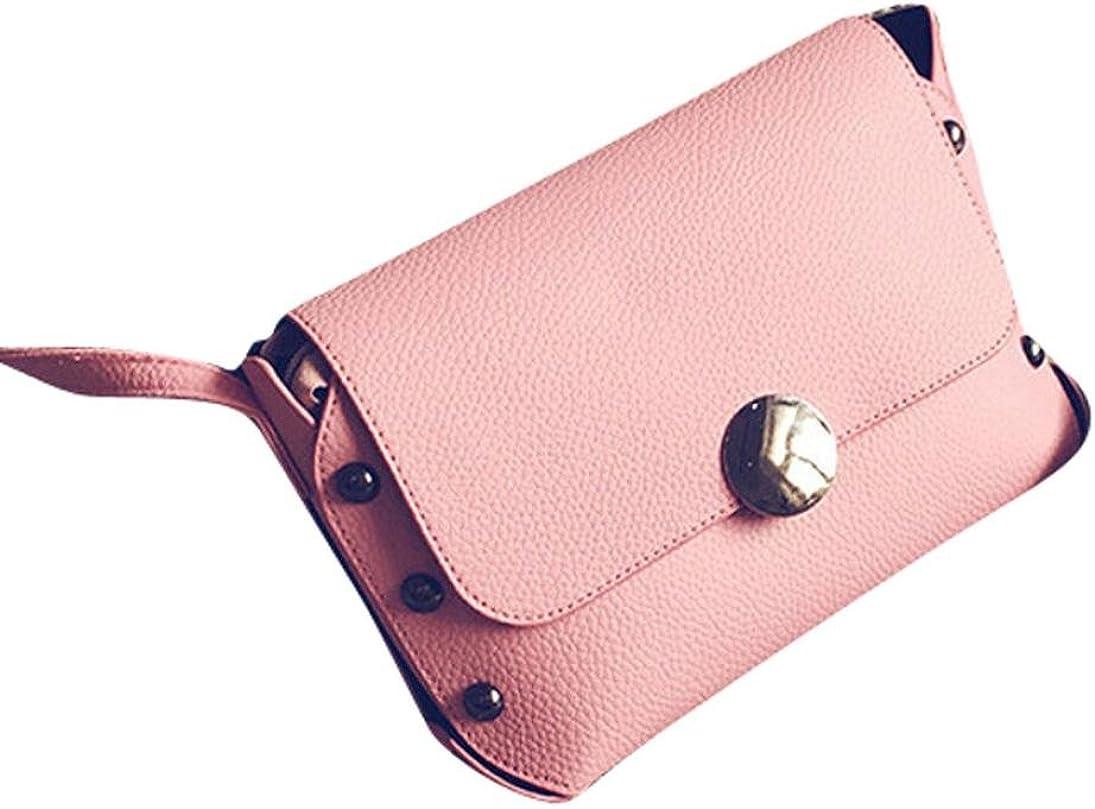 GBSELL Fashion Women Leather Rivet Handbag Cross Body Single Shoulder Phone Bag