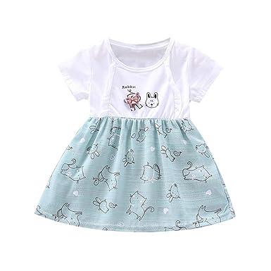 Kids Girl Toddler Minnie Mouse Cartoon Party Dress Sleeveless Midi Skirt Dresses