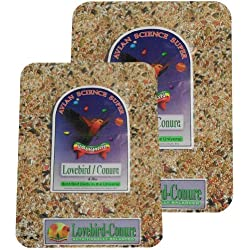 Volkman Avian Science Lovebird - Conure 4lb (2) Pack