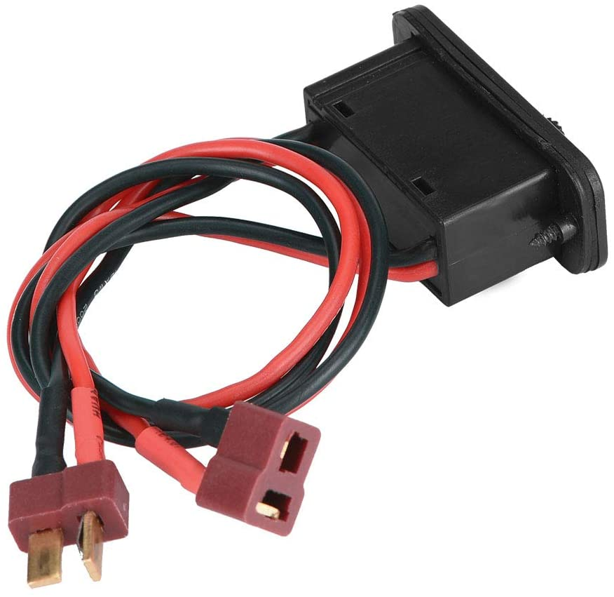 Dilwe RC Interruptor, Alta Corriente On/Off Interruptor para RC AVI¨®n Modelo Interruptor Accesorios del Sistema de Control