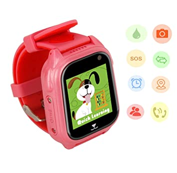 Hanggang GPS Tracker GPS Niños GPS Watch Kids, Kids Smart ...