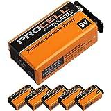 Duracell Procell PRO-9V 9V形 アルカリ乾電池×6個セット