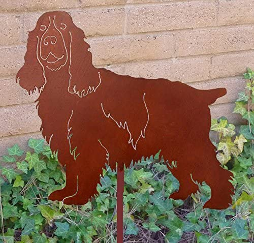 Cocker Spaniel Garden Stake//Garden Decor//Garden Art