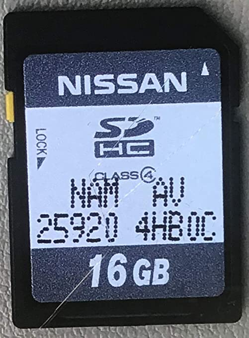 Amazon.com: 2015-16 Infiniti Q50 Navigation SD Card 25920 ...