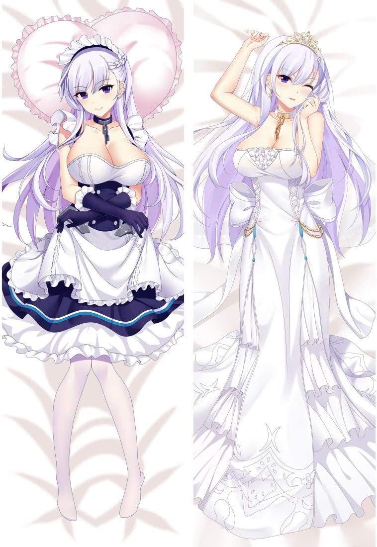 Amazon Com Kcogh Azur Lane Belfast Peach Skin 160 X 50cm 62 9in X 19 6in Pillowcase Home Kitchen Belfast is a character from the video game azur lane. kcogh azur lane belfast peach skin 160