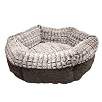 Rosewood 40 Winks Tweed And Plush Pet Bed (Assorted Colours)