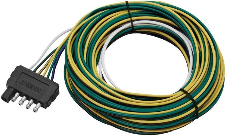 wiring harness connector ends amazon com wesbar 702275 5 way flat 25  trailer end wire harness  amazon com wesbar 702275 5 way flat 25