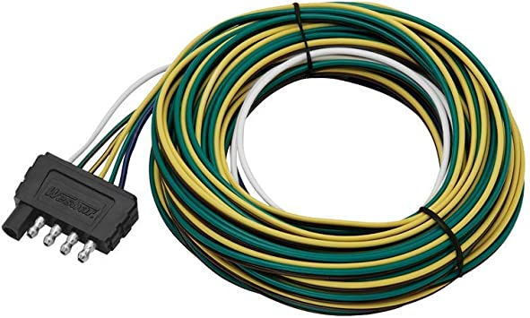 Amazon.com: Wesbar 702275 5-Way Flat 25' Trailer End Wire Harness, 1 Pack:  AutomotiveAmazon.com