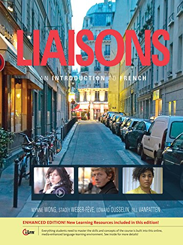 (Bundle: Liaisons: An Introduction to French, Enhanced + Premium Web Site, 3 terms (18 months) Printed Access Card + SAM Answer Key with Answer Solution + Student Activities Manual)