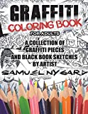 Graffiti Coloring Book For Adults: A Collection of
