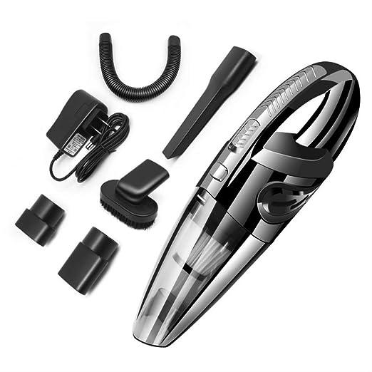 GUO Aspirador para Auto Aspirador inalámbrico de Mano Asiento de Carga USB para el hogar Aspirador de Doble Uso húmedo y seco Portátil: Amazon.es: Hogar