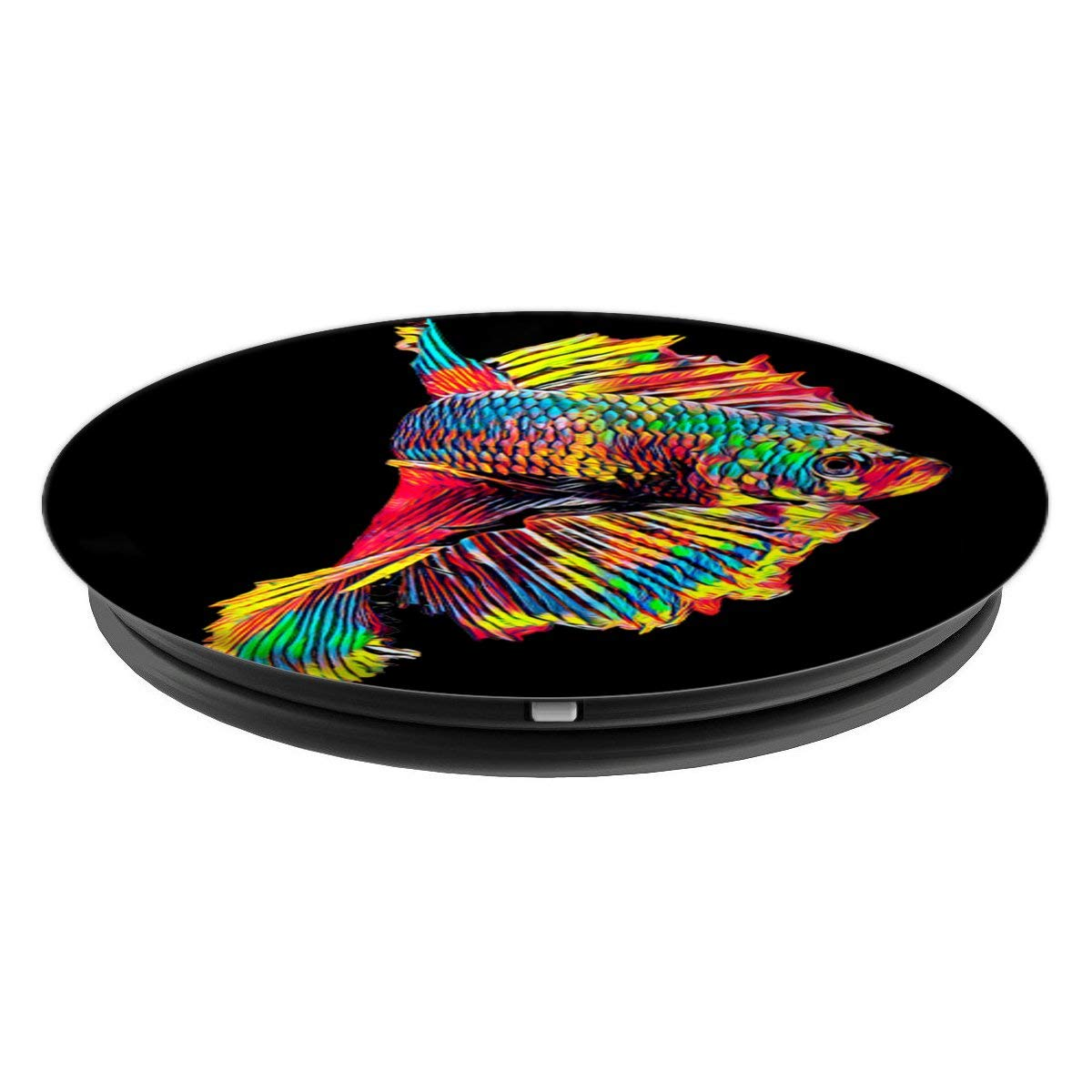 Amazon.com: Beautiful Siamese Fighting Fish - PopSockets Grip and Stand for Phones and Tablets: Cell Phones & Accessories