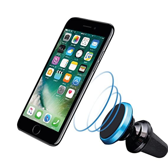 f12dae176022 INNERSO Magnetic Mount Air Vent Holder Car Mount Universal Cradle 360  Rotate Bracket Cell Phone Holder for Apple iPhone iPod Samsung Galaxy LG  HTC ...