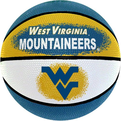 NCAA West Virginia Mountaineers Mini Basketball, (Wvu Basketball)