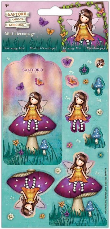 Santoro Gorjuss D/écoupage Multicolore