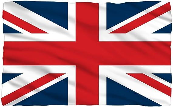 Unión Jack bandera de Inglaterra Reino Unido Reino Unido símbolo polar manta de forro polar: Amazon.es: Hogar