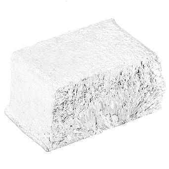 Akozon Mg Bloque de metal de magnesio 1kg, Alta pureza 99,99%,