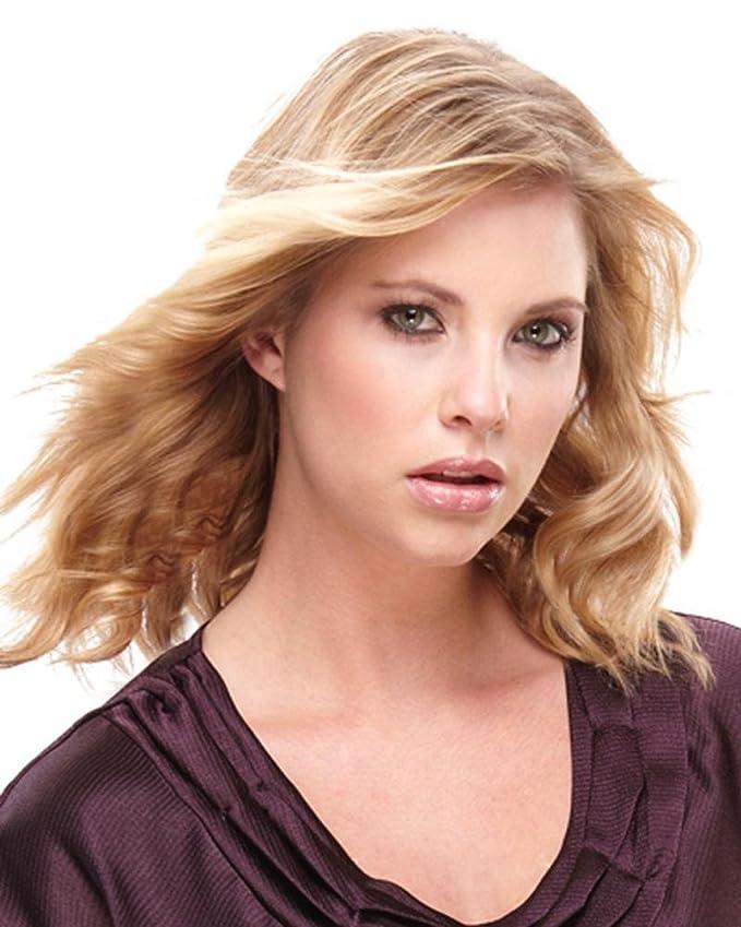 "14"" easiVolume HD Hair Extensions 1 pc Heat Friendly Women's Volumizer Clip In by EasiHair - Color 24B/27C BUTTERSCOTCH"