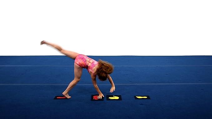 Amazon.com: De Tumbl Trak Chica gimnasta Manos y Pies ...
