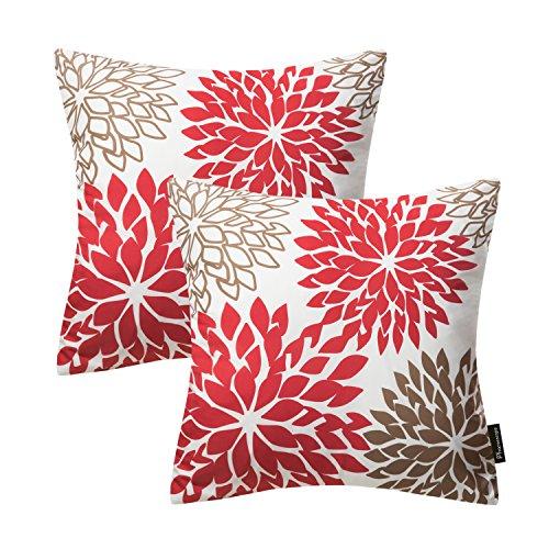 PHANTOSCOPE New Living Dahlia Series Decorative Throw Pillow