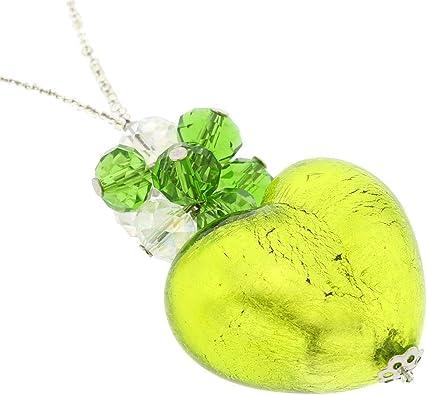 Lime Millefiori Pendant