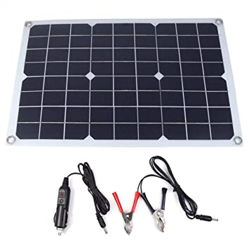 1eed72b85 DC5V/DC18V 20W Dual Output Solar Power Energy Charging Panel with USB  Interface Car Charger