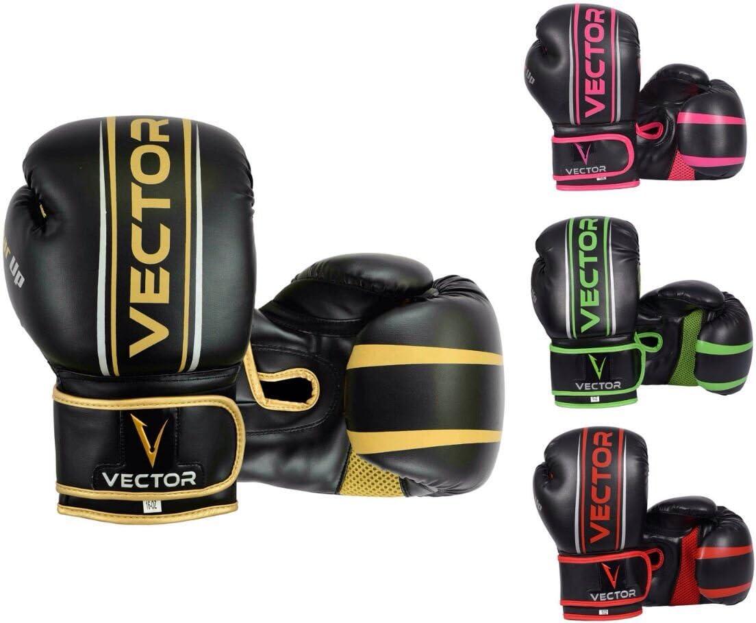 Guantes de Boxeo Medio Dedo Boxing Gloves Men Women Training Padded Inner Gloves