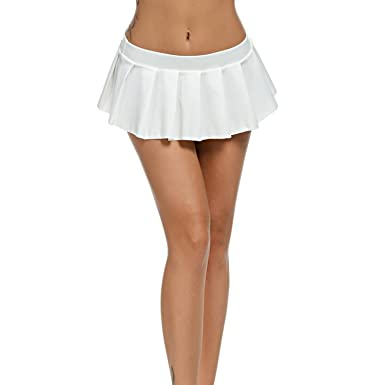 735d99c03 Women Micro Skirt Sexy Low Waist Black White Green Short Mini Skirt ...