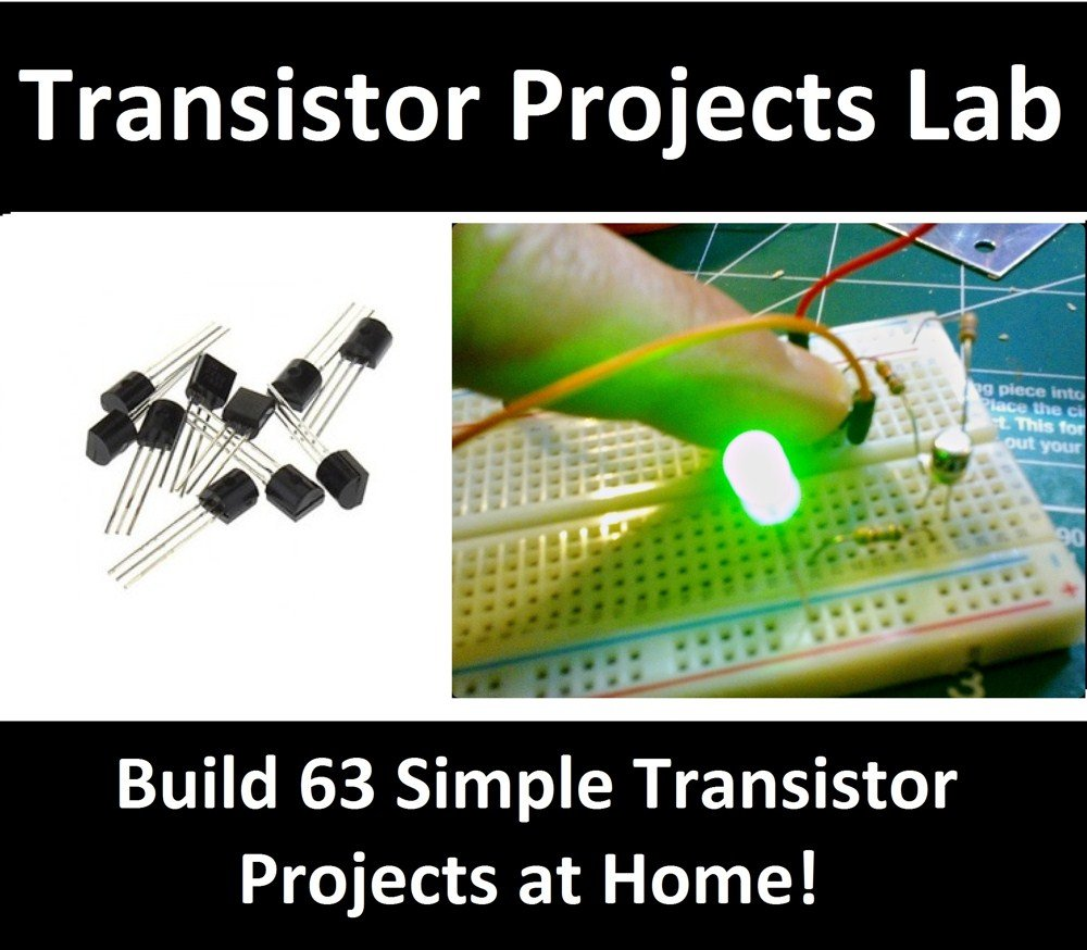 Transistor Projects Lab 63 Electronic Hobby Simple Touch Switch Circuit Using School College Epk079 Toys Games