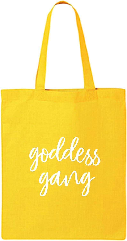goddess gang Cotton Canvas Tote Bag