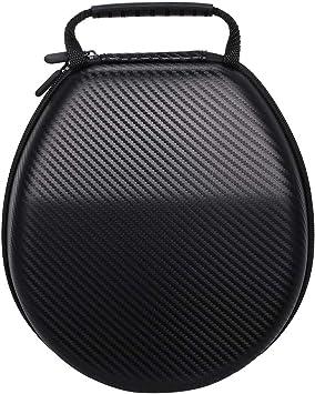 Grborn Estuche rígido para Auriculares EVA Bolsa para audífonos portátil Estuche para Transporte Estuche para Transporte Máxima protección Espacio Grande para Sennheiser Sony AKG JVC Somic Philips: Amazon.es: Electrónica