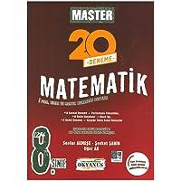 Okyanus Yayınları 8. Sınıf Master 20 Matematik Denemesi