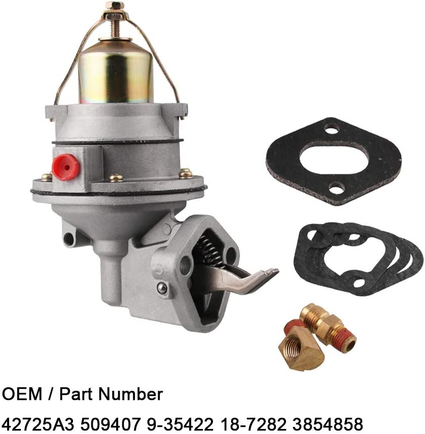 Lopbinte 3854858 42725A3 Pompa meccanica per MerCruiser MERCURY MARINE 3.0L 2.5 PENTA