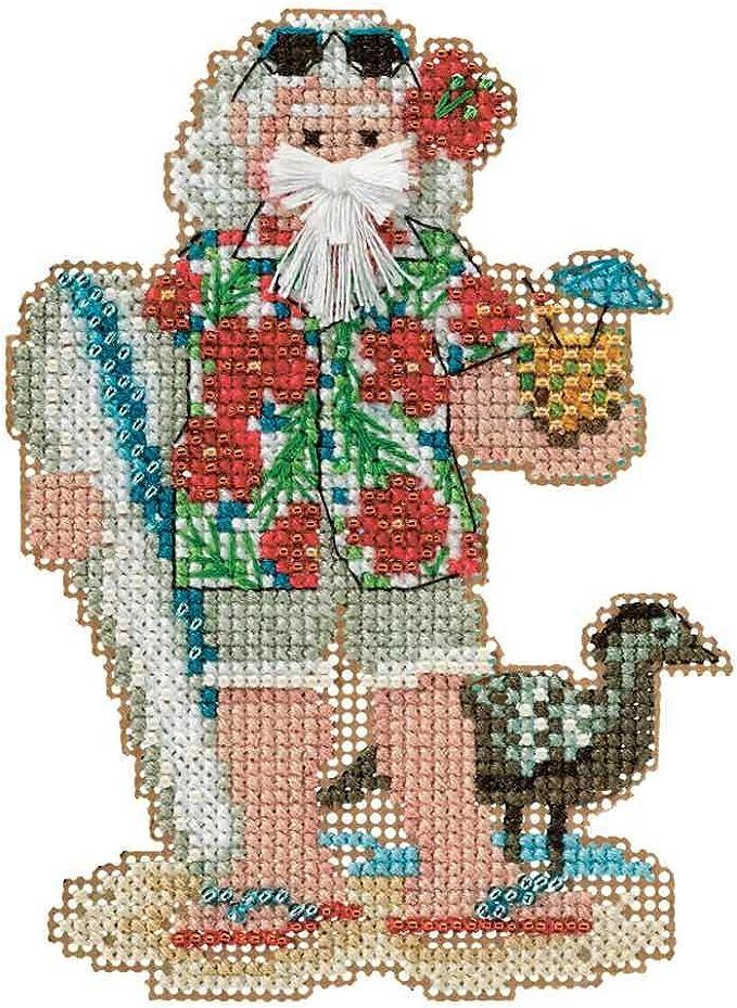 Tropical Island Cross Stitch Kit hand embroidery