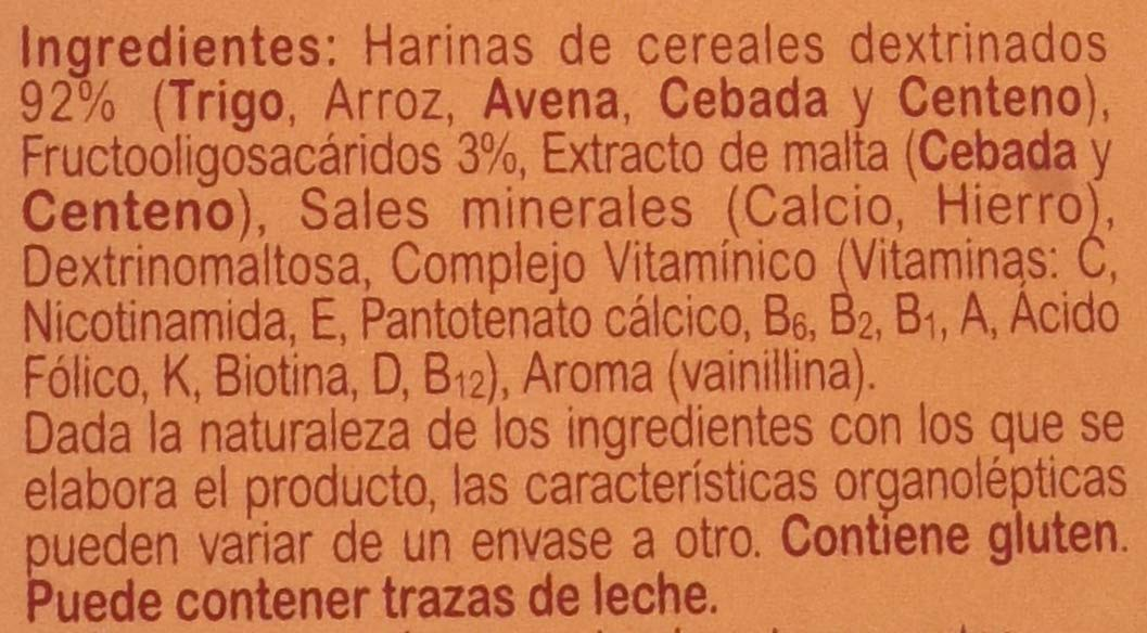 Blevit Plus 5 Cereales - Paquete de 2 x 300 gr - Total: 600 gr: Amazon.es: Amazon Pantry