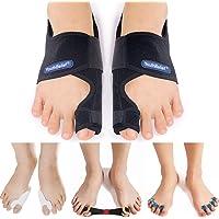 Bunion Corrector Bunion Splint Hallux Valgus 【2021 Updated】Toe Separator Big Toes Corrector Set Bunion Brace Hallux…