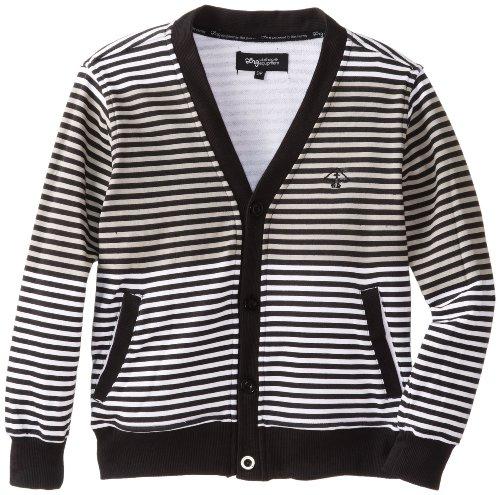 LRG Boys 8-20 Striped Cardigan