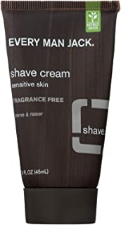 product image for Every Man Jack Shave Cream Fragrance Free - Shave Cream - 1 FL oz.