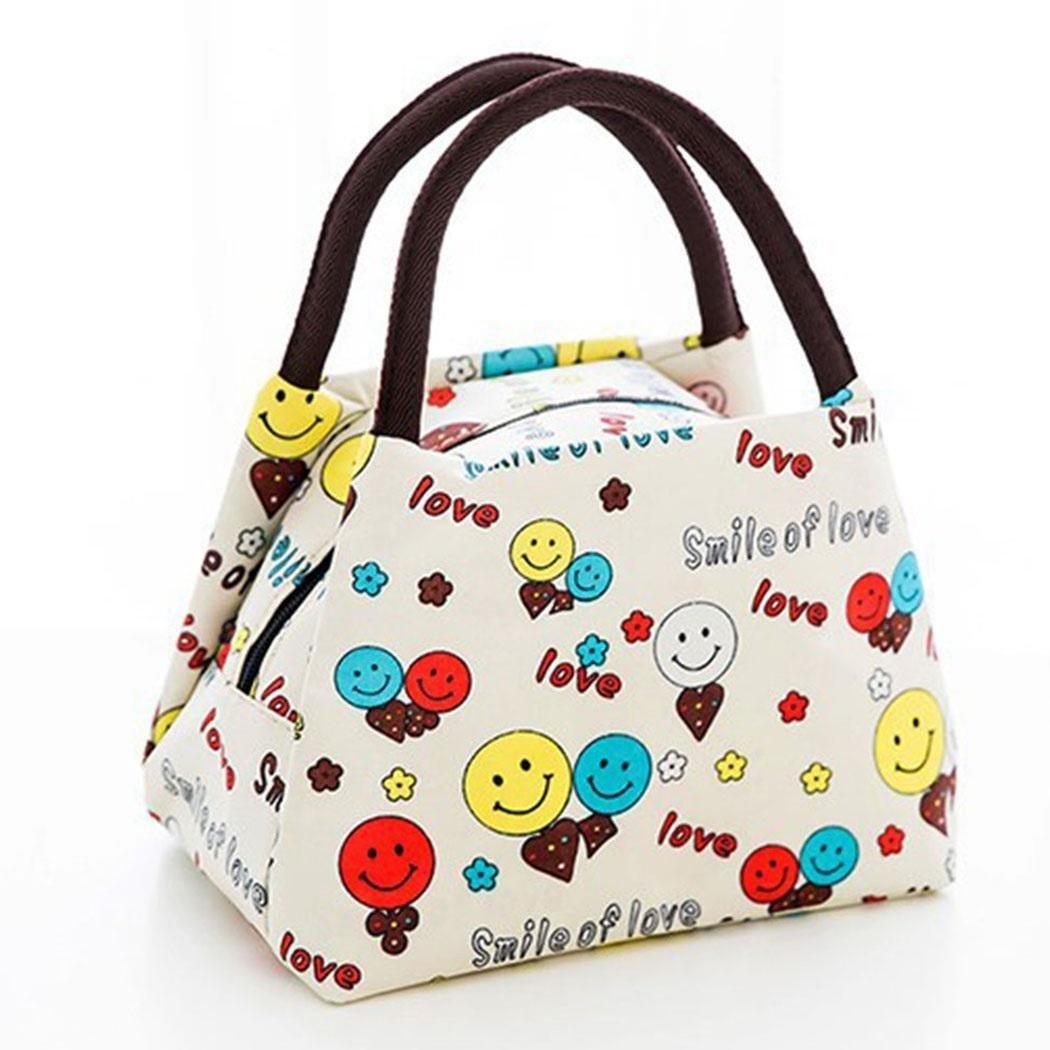 Nisels Borsa Termica Impermeabile Borsa Porta Pranzo Termico portatile e impermeabile Lunch Bag per Adulto e Bambini 15 x 22 x 17 cm